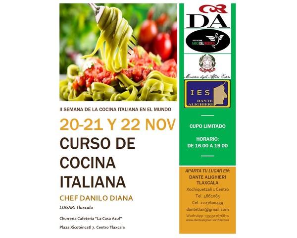 Curso De Cocina Alicante | Curso De Cocina Italiana Societa Dante Alighieri Comitato Tlaxcala